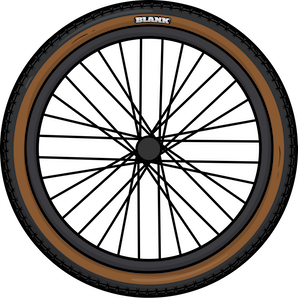 Real wheel for Blank Ammo BMX